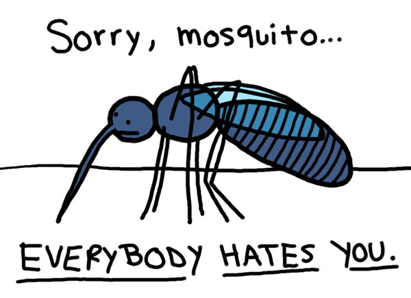 Sorry Mosquitoes, Everybody Hates You